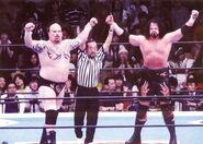 Rick Fuller & Giant Bernard