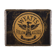 Wyatt Family Follow The Buzzards Jacquard Throw Blanket