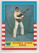 1987 WWF Wrestling Cards (Topps) Honky Tonk Man 13