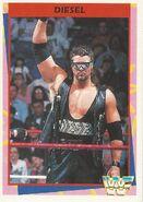 1995 WWF Wrestling Trading Cards (Merlin) Diesel 60