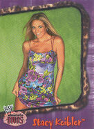 2002 WWE Absolute Divas (Fleer) Stacy Keibler 6