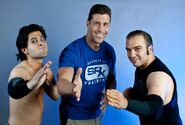 Jaison Moore & Shayne Swift & Stevie Richards - 5834
