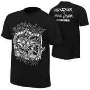 The Undertaker vs. Brock Lesnar SummerSlam 2015 Event T-Shirt
