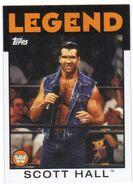 2016 WWE Heritage Wrestling Cards (Topps) Scott Hall 102
