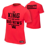 Bad News Barrett King of Bad News Authentic T-Shirt