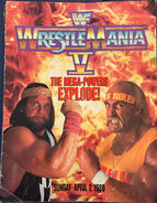 WrestleMania V Program