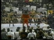 Owen Hart & The Rock vs Kane & Mankind