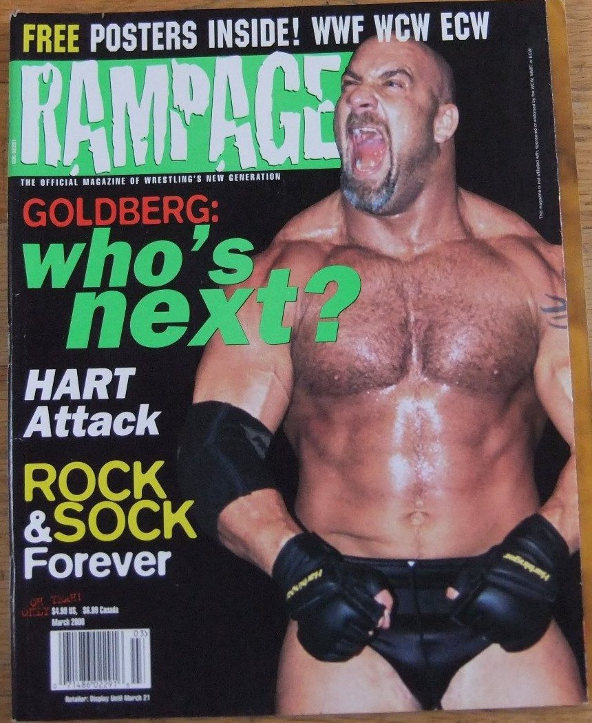 Bill Goldberg/Magazine Covers