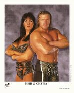 Triple H and Chyna P-546