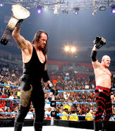 Undertaker and Kane as champions