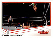 2013 WWE (Topps) Evan Bourne 14