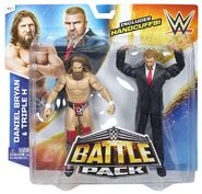WWE Battle Pack 32 - Daniel Bryan and Triple H