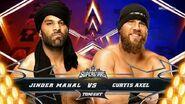 Jinder Mahal vs. Curtis Axel