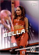 2016 WWE Divas Revolution Wrestling (Topps) Brie Bella 17