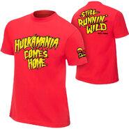 Hulk Hogan Hulkamania Comes Home T-Shirt