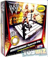 Wrestling Exclusive Wrestlemania Superstar Ring
