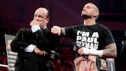 Cm punk and paul heymen