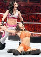 Evil Melina @ Raw 2.7.11