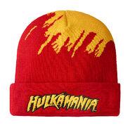 Hulk Hogan Cuffed Knit Beanie Hat