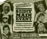 Saturday Night's Main Event XV Ad