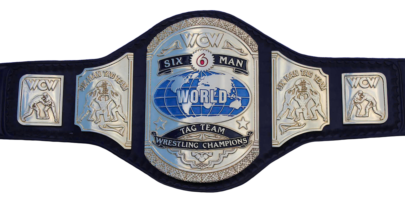 wcw world sixman tag team championship pro wrestling
