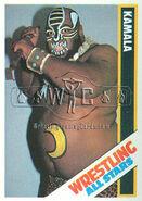1985 Wrestling All Stars Trading Cards Kamala 6