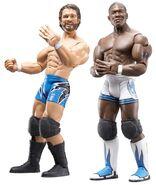 WWE Adrenaline Series 25 Charlie Haas & Shelton Benjamin
