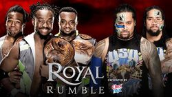 RR 2016 The New Day v The Usos