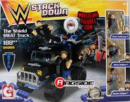 WWEStackdownTheShieldSWATTruck