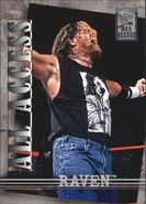 2002 WWF All Access (Fleer) Raven 45