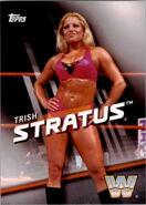 2016 WWE Divas Revolution Wrestling (Topps) Trish Stratus 7