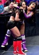 AJ Lee and Layla