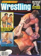 Sports Review Wrestling - April 1983