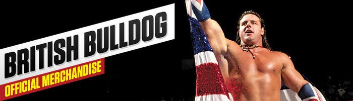 British Bulldog Merch poster