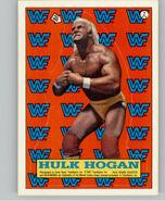 1987 WWF Wrestling Cards (Topps) Stick Hulk Hogan 2
