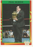 1995 WWF Wrestling Trading Cards (Merlin) Paul Bearer 151