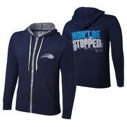 CENA Training Logo Lightweight Full-Zip Hoodie Sweatshirt