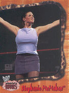 2002 WWE Absolute Divas (Fleer) Stephanie McMahon 11
