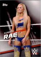 2016 WWE Divas Revolution Wrestling (Topps) Summer Rae 35