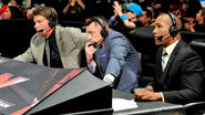 Michael Cole, Byron Saxton & JBL (June 22, 2015)