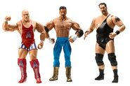 WWE Treacherous Trios 3 Eddie Guerrero, Kurt Angle, & Big Show