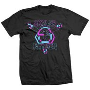 Skyler Fayden 8 Bit Sky Black Shirt
