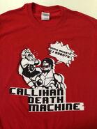 Sami Callihan The Death Machine vs DJ Roboto T-Shirt