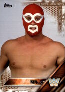 2016 WWE (Topps) Mr. X 79