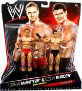 WWE Battle Packs 11 Drew McIntyre & Cody Rhodes