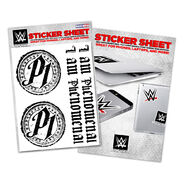 AJ Styles P1 Sticker Sheet