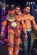 Robbie E as TNA Champ