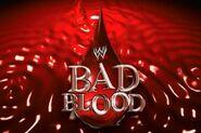 WWE Bad Blood Logo