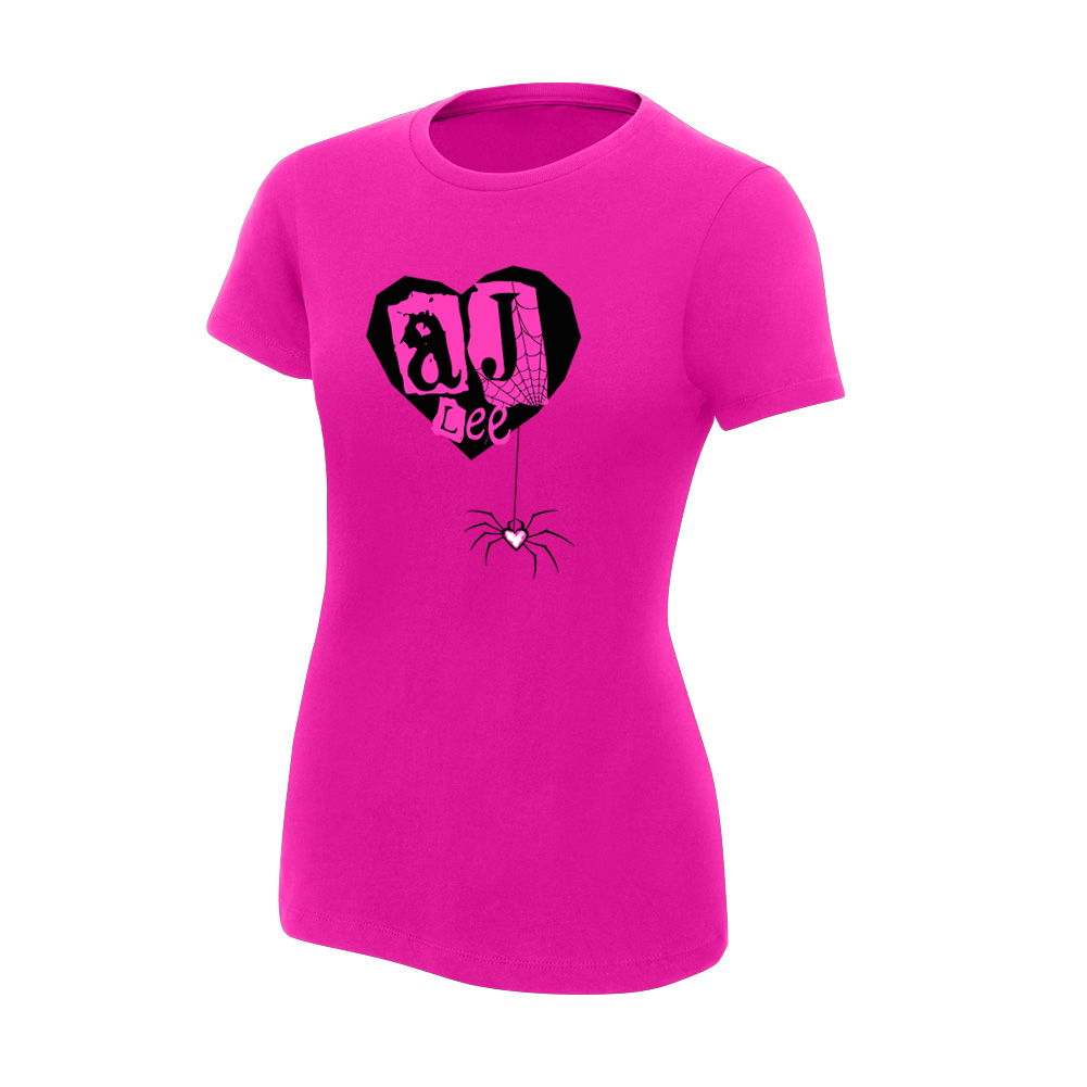 AJ Lee Pink Youth Girl's T-Shirt | Pro Wrestling | Fandom powered ...