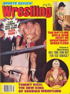 Sports Review Wrestling - March 1980